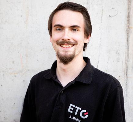 Alexander Müller · Elektromeister · Projektleiter